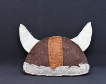 Viking Helmet Catnip Toy