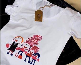Baby T-shirt draw