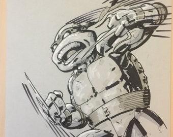 Raphael TMNT - by comic book artist Blair Shedd