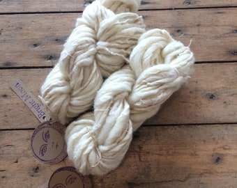 Gull Feather Yarn : South Down Wool, Linen, Soy Fibre