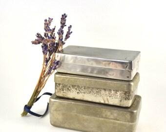 Medical Metal Box, Vintage Sterilizer Box for Syringe, Medical Metal Container, Metal Container, Medical Sterilizer, Stainless Steel Case