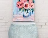 "Bright Blooms, 8.5""x..."