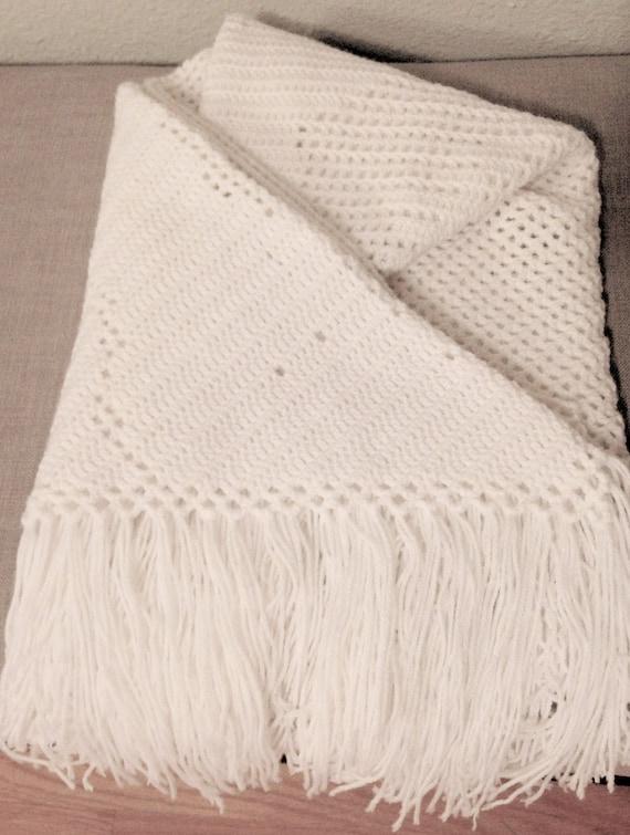 Chal abrigo chal de oración Crochet chal de oración abrigo