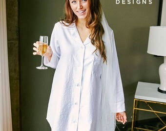 Bridal pjs, bride pjs, white pjs, white pajamas, bridal party pjs, bridal pajamas, bridal party pajamas, white bridal pajamas, group pajamas