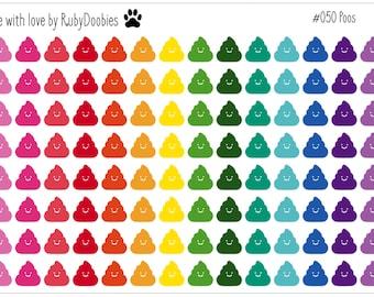 Happy Poo Stickers