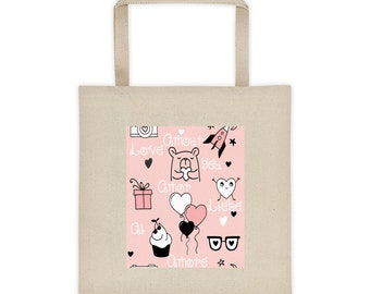 International Language Of Love Tote Bag