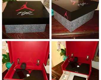 Jordan shoe box Etsy