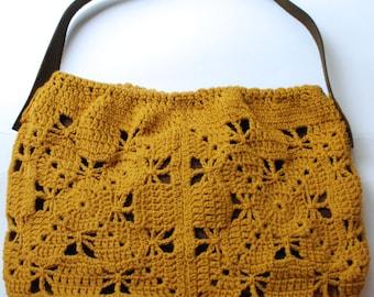 Crochet slouch bag pattern