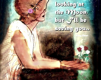 SEEING YOU  ... Art by Anita of Zen to Zany