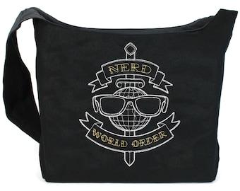 Nerd World Order Sling Bag