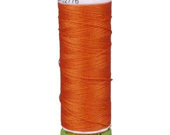 Orange Gutermann Recycled Polyester Thread (GT351)