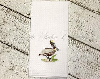 Louisiana Pelican Kitchen Towel