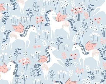 Sale!  Ice Unicorns, Frolic by Dear Stella ST-886ICE