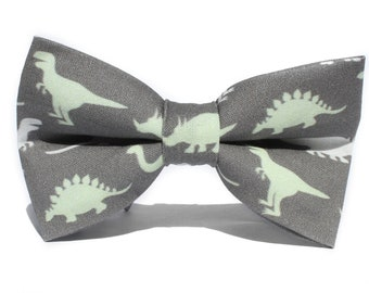 Dinosaur Bow Tie, Bow Tie for Boys, Toddler Bow Tie, Bowtie, Dog Bow Tie, Mens Bow Tie, Boys Bow Tie, Kids Bow Tie, Fun Bow Tie, For Him