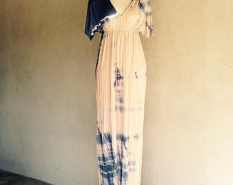 Love Tanjane Maxi Dress Tie Dye Rayon