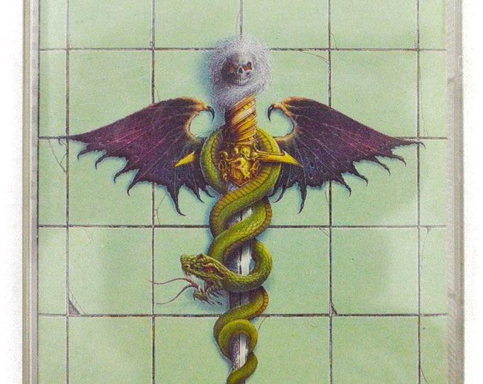Vintage 80s Motley Crue Dr. Feelgood Heavy Metal Album Cassette Tape