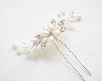 Bridal Hair Pin, Bridal Hairpin, Bridal Halo, Bridal Hairpiece, Bridal Hairpins