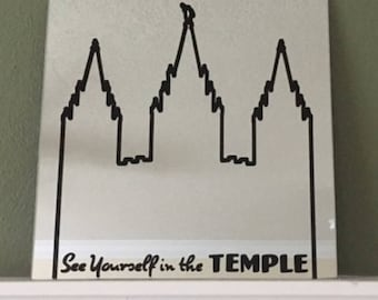 See Yourself In The Temple Mirror