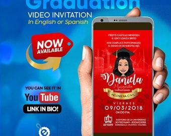 Graduation Digital Invitation