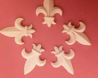 lily flowers in plaster, sold individually
