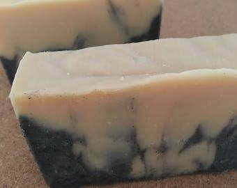 Cedarwood Sage Beer Charcoal Soap