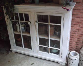 Two Door Farmhouse Cabinet