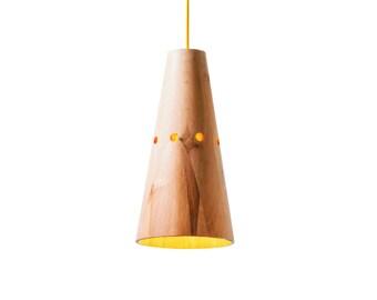 Wooden pendant lamp Kabak