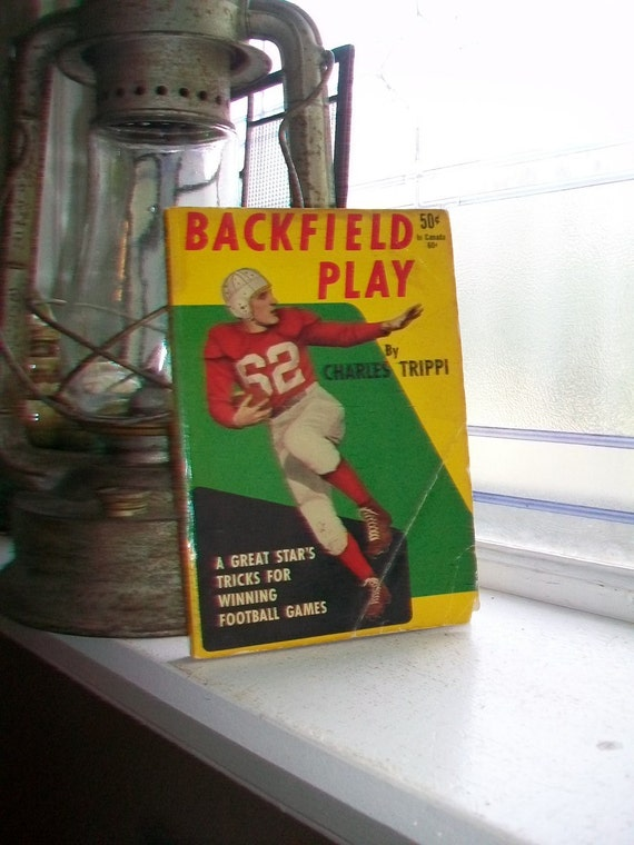 Backfield Play Vintage 1948 Football Book
