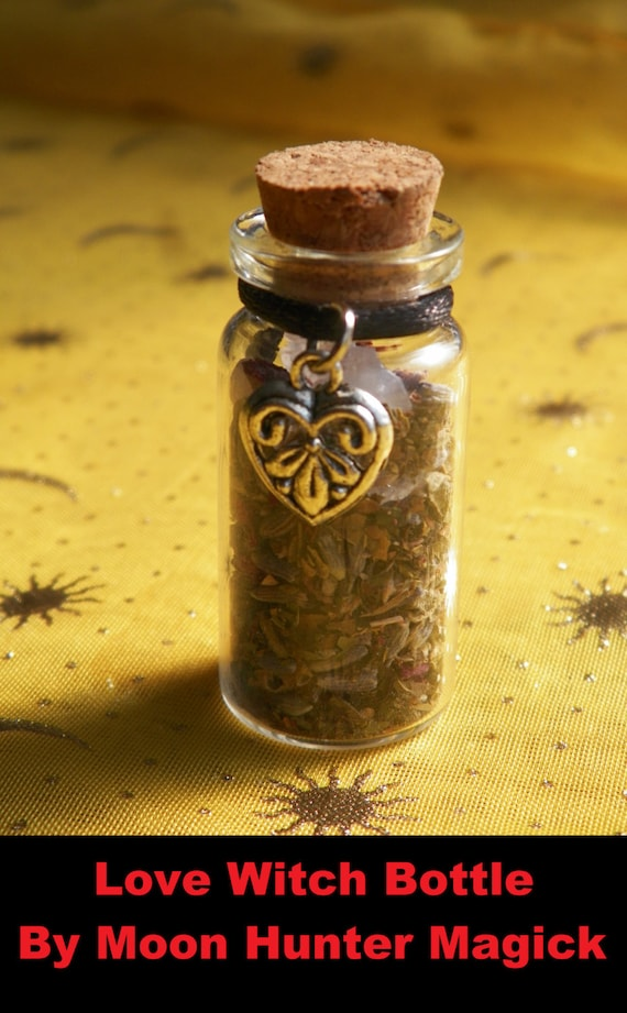 Love Witch Bottle Herbal Blend Ritual Supply Charm Talisman