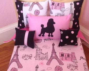 Paris Bedding Etsy