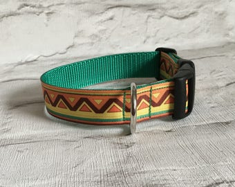 Dog Collar - Mexican Style - Handmade Pet Gift