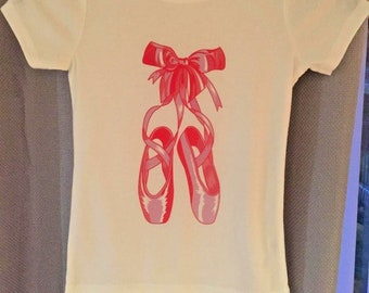 Ballet Shoes child's T shirt, Dance