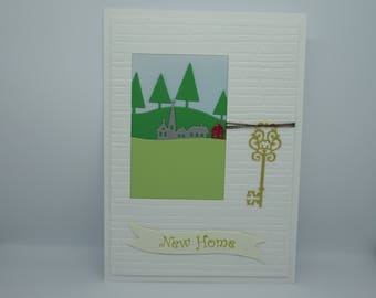 Handmade New Home Card, Congrats New Home Card, Moving Home Card, First Home, Happy New Home, Housewarming Card, New Home, New House
