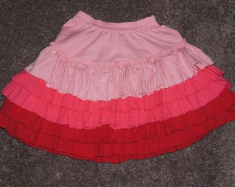 Pink Layer Skirt