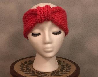 Custom Color Knit Bow Headband