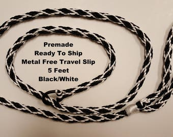 PREMADE Metal Free Travel Slip Lead Ready To Ship