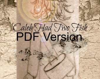 Christian Story, Child's Bible Story, Gospel Miracles Retold, Through the Eyes of a Child, Caleb Had Two Fish, Linda and Art Voth, Paperback