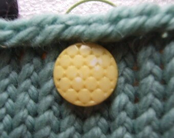 Mint Green Wool  Mini bag