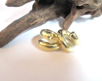 Ear weight -coil ear weights -brass ear weight-5mm brass weight-1 pair