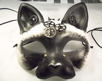 Steampunk Siamese Mask