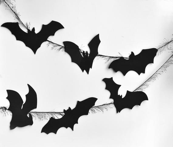 Fledermaus Halloween Deko 16 Fledermäuse wiederverwendbare