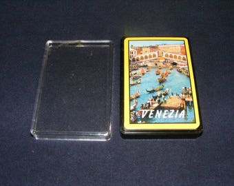 Deck of Cards, Playing Cards, Venice Italy, Venice Italy Playing Cards, Venezia, Venezia Cards,Italian Playing Cards, Deck Cards, Vintage