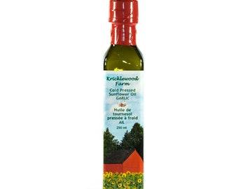 Garlic Infused Sunflower Oil