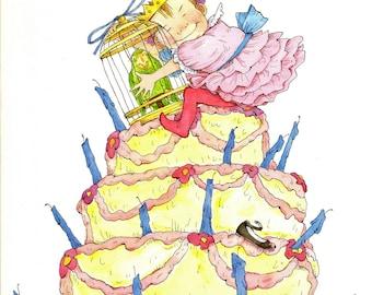Princess Penelope's Parrot by Helen Lester Illustrated by Lynn Munsinger  Children's Parrot Story 1996