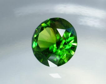 Demantoid 2,14ct., D-7,9mm.