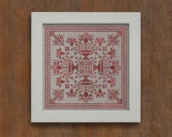 Winter Garden - Cross Stitch Pattern - Instant Download PDF Booklet