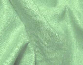 Mint Linen Fabric By the Yard 5 oz European Linen