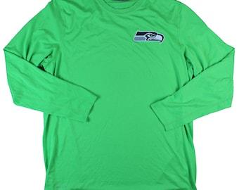 Nike NFL Eagles Bright Green Dri Fit Long Sleeve - XL