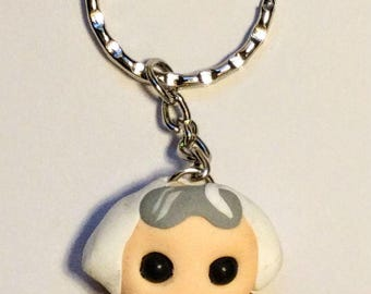 Lil Doc Brown (Back to the Future) Keyring