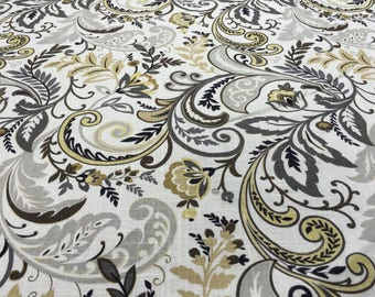 Paisley Fabric- 1 1/2 yd